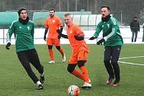 Fotbalová příprava: Tatran Rakovník - Hořovicko 1:4.