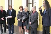 Slavnostní odhalení busty Václava Talicha v Berouně