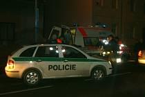 Nehoda 18. prosince na OPlzeňské ulici v Berouně