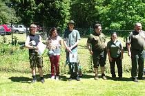 VŠICHNI  účastníci soutěže dostali za svůj výkon odměnu.