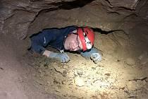 Jeskyně u Tetína. Maturita v jeskyňářství.