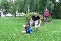Hostomice připravují dětské hřiště