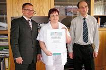 Nemocnice Hořovice získala ocenění za kvalitu a bezpečnost