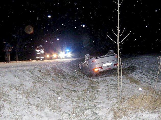 Dopravní policisté vyjížděli na Berounsku k desítkám dopravních nehod