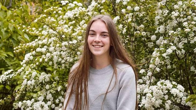 Kateřina Kovářová je v maturitním ročníku Střední pedagogické školy v Berouně.