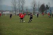 Dvanáct gólů viděli diváci v utkání nejnižší soutěže.