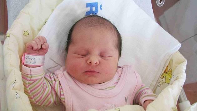 9. 9. 09 přišla na svět princezna se jménem Eliška.V ten den vážila holčička 3,41 kg a měřila 50 cm. Rodiče Lenka a Václav Říhovi si svoji dcerku odvezou domů do Měňan, kde se na Elišku těší bráška Vašík (3).