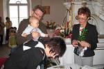Nové občánky vítali v Hořovicích. Děti a jejich rodiče přivítala místostarostka Hořovic Jana Šrámková a zastupitelka města Zdeňka Ulčová