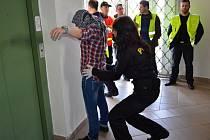 Cvičení 'Migrace 300' v Berouně prověřilo připravenost Středočeského kraje na případnou migrační vlnu.