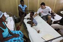 Hořovický lékař Tomáš Šebek působil tři měsíce v nemocnici na Haiti