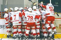 Historie berounského hokeje. V roce 2004 sahali Medvědi po postupu do extraligy.