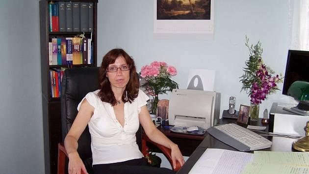 Obyvatelka Vrchlického ulice Renata Wachtlová