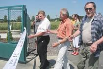 V Kublově slavnostně ukončili výstavbu kanalizace