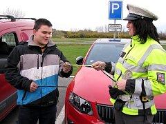 Bezpečnostní akce Policie ČR má upozornit chodce na pravidlo, které platí od letošního února.