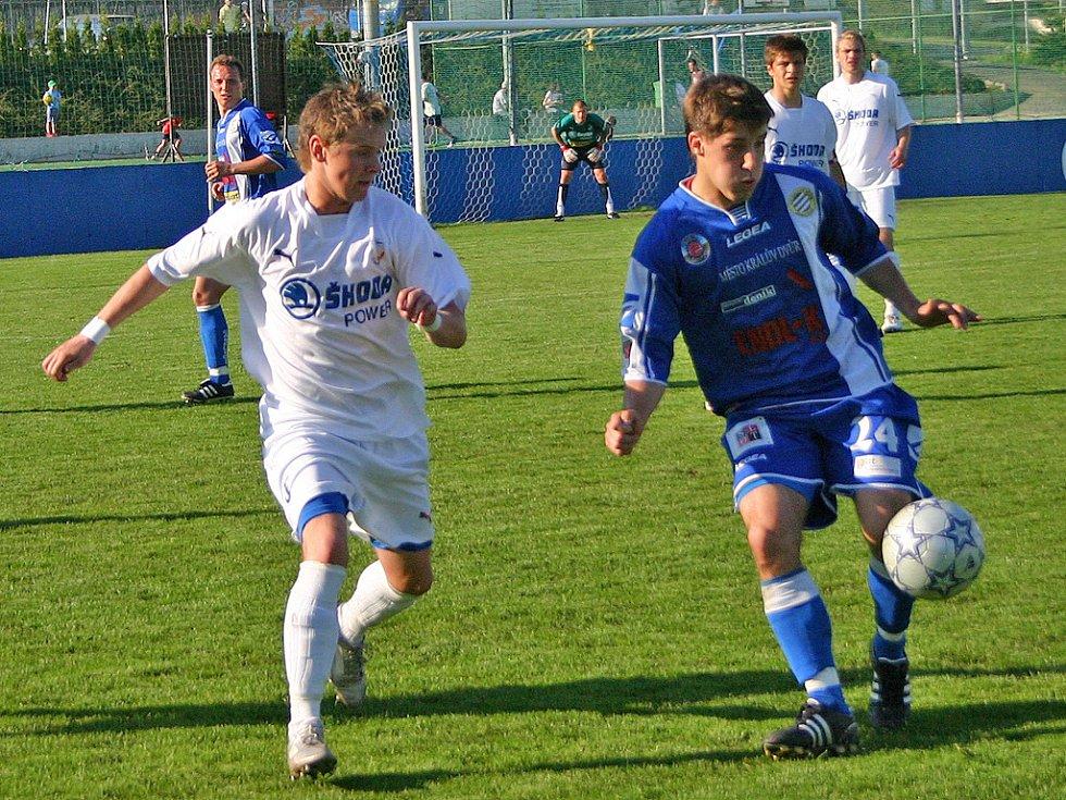 ČFL: Králův Dvůr - Plzeň  B 1:0