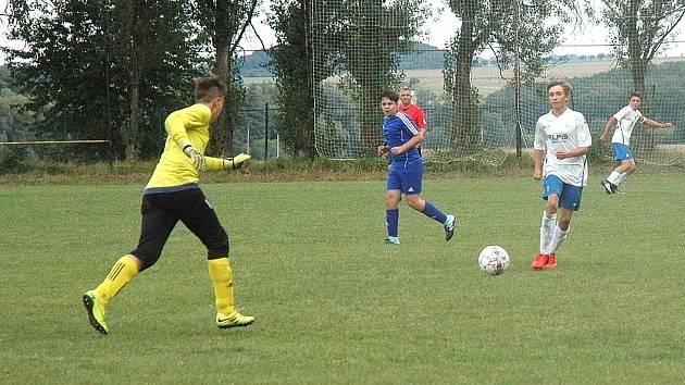 Starší žáci Hořovicka vyhráli i ve druhém kole krajského přeboru.