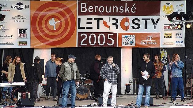 Hudební festival Berounské Letorosty zahajuje každý rok zakladatel této jedinečné akce senátor Jiří Oberfalzer.