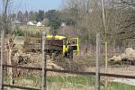 Biokoridor na soukromém pozemku mizí.