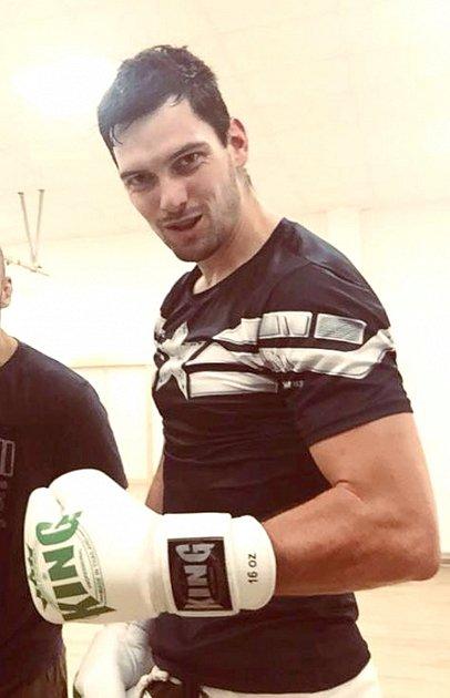 Karel Horký jako boxer
