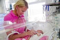 NOVOROZENECKÉ oddělení Nemocnice Hořovice vede Milena Dokoupilová.