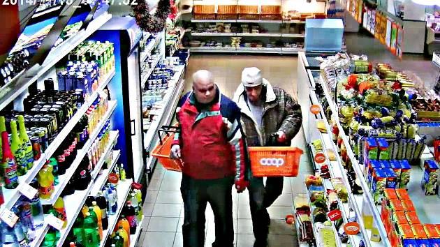 Zloděje zachytila  kamera