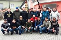 FK Komárov na soustředění v Třeboni