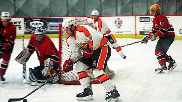 Krajská liga hokeje: Králův Dvůr - Poděbrady 0:5