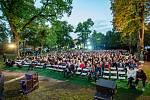 Rusalka v parku na zámku Liteň.