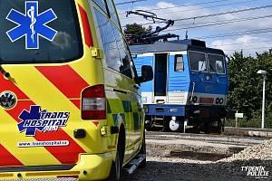 Z dění na nádraží v Dobřichovicích po smrtelném střetu vlaku se seniorem.