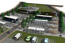 Radní Hořovic  představili vítězný projekt nového autobusového nádraží.