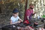Archeologové, soutěže a spousta dobré zábavy čekali v sobotu na návštěvníky akce Mamuti na Točníku.