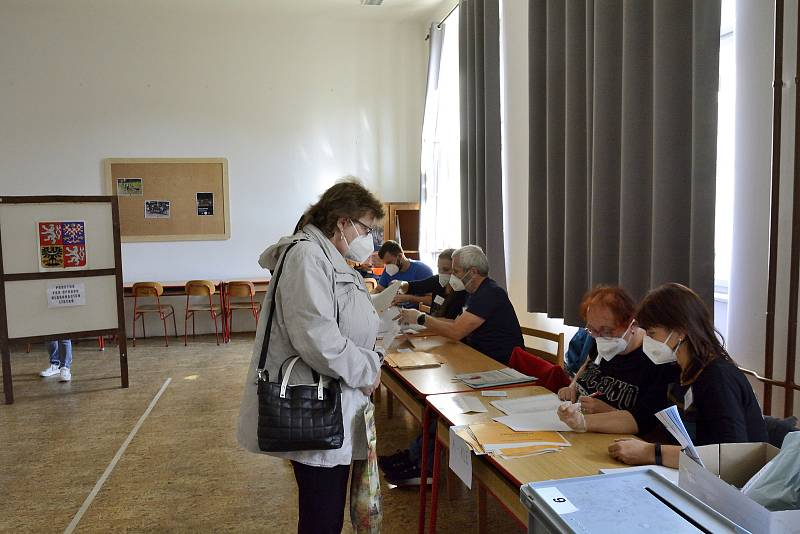 Volby v berounské obchodní akademii