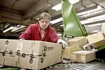 Pošta se musí vypořádat s nárůstem balíkových zásilek i na Berunsku