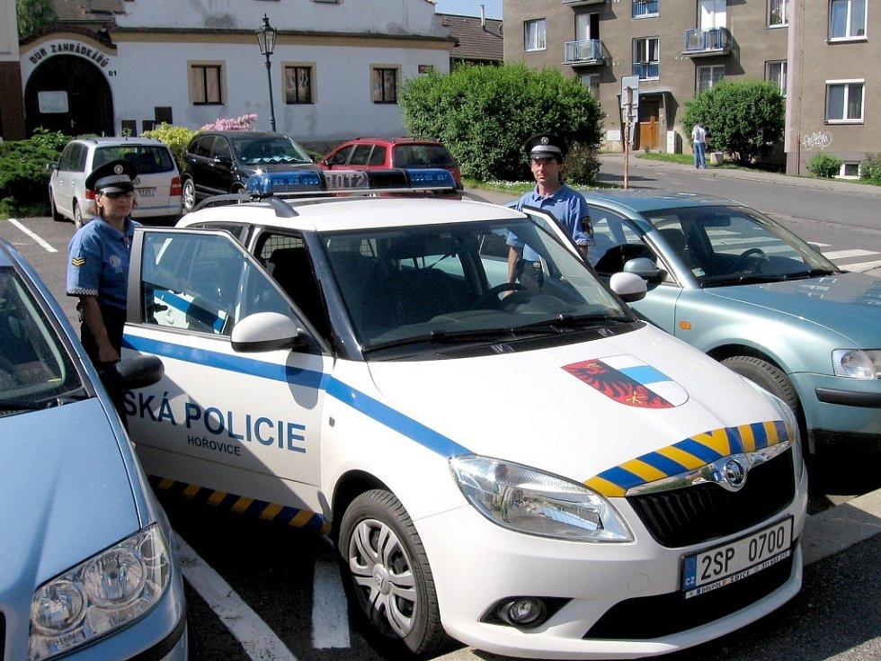 Městská police v Hořovicích