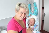 Nicol Neumanová se narodila v nymburské porodnici 3. července 2021 v 16.20 hodin s váhou 3180 g a mírou 48 cm. Do Velenky holčička pojede s maminkou Lucií, tatínkem Tomášem a bráškou Tomášem (3 roky).