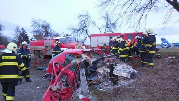Smrtelná nehoda u Litně