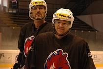 Berounští hokejisté trénují na ledě