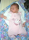 K NATÁLCE (2 r. 9 měs.) přibyla sestřička Emmička. Emmička Sekyrková se narodila 27. října 2017 v hořovické porodnici u Sluneční brány a je dcerou manželů Lucie a Jiřího Sekyrkových. Holčička vážila po porodu 3,26 kg a měřila 49 cm.