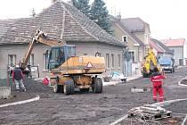 Oprava ulice Boženy Němcové v Berouně