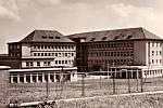 Hořovická nemocnice v sedmdesátých letech.