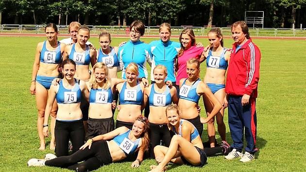 Berounské atletky ve Staré Boleslavi