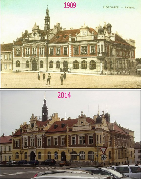 Radnice z roku 1905.