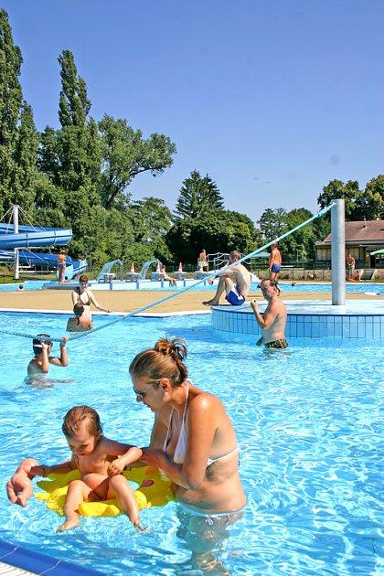 Hořovický aquapark nabízí mnoho atrakcí