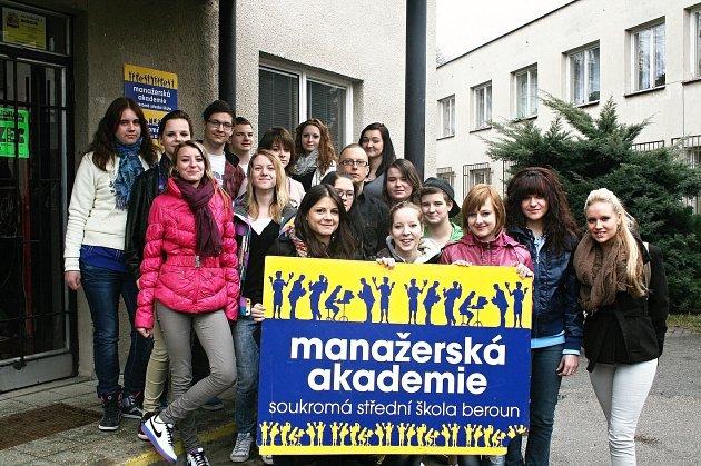 Studenti Manažerské akademie Beroun se představují