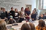 Výstava prací výtvarných oborů ZUŠ z celé republiky, které vznikly pod vedením sochaře Michala Gabriela, výtvarnice Alžběty Skálové a Andrey Borovské.