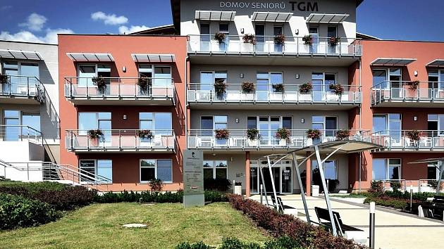 Domov seniorů T. G. Masaryka v Berouně.