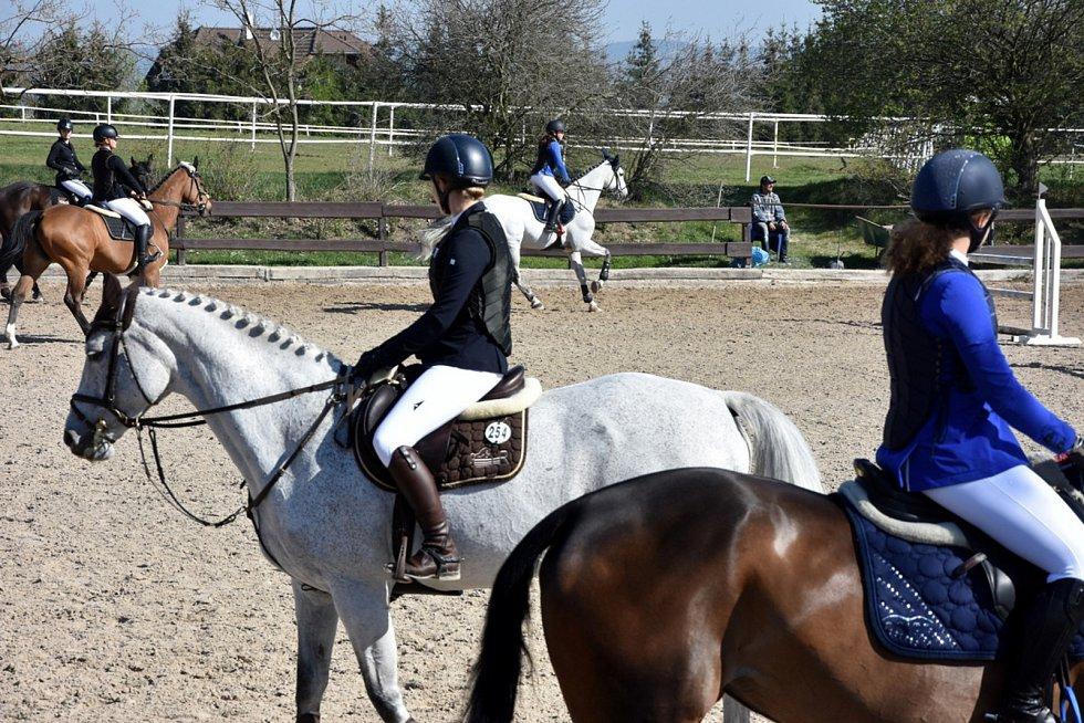 Při závodech vynikne souhra koně a jezdce.