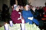 Osovští si společně užívali sváteční atmosféru