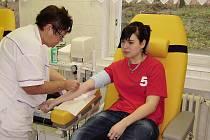 Hořovičtí florbalisté darovali krev