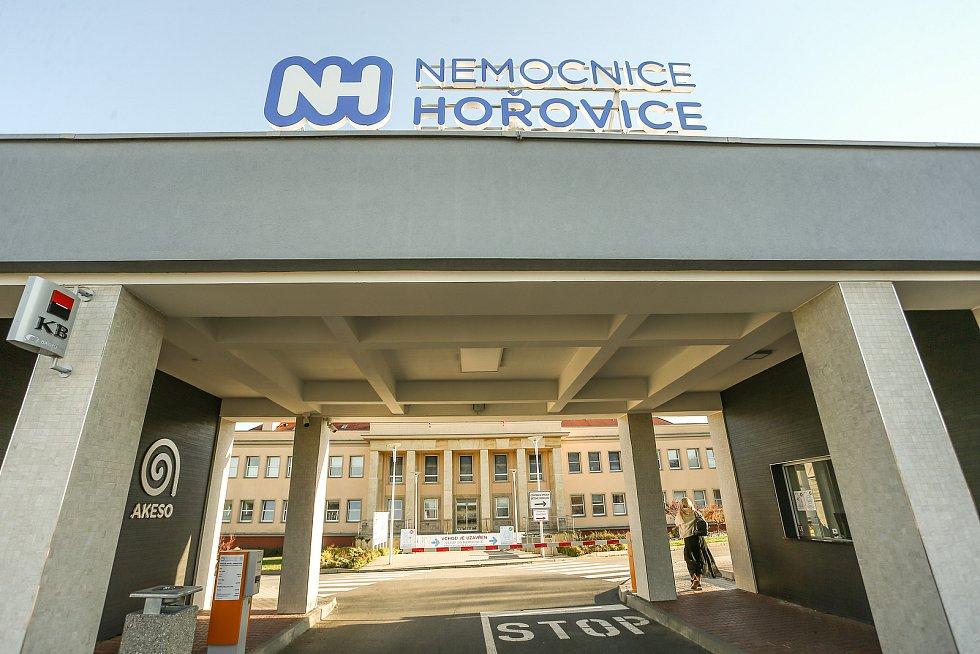 Areál Nemocnice NH Hospital v Hořovicích.